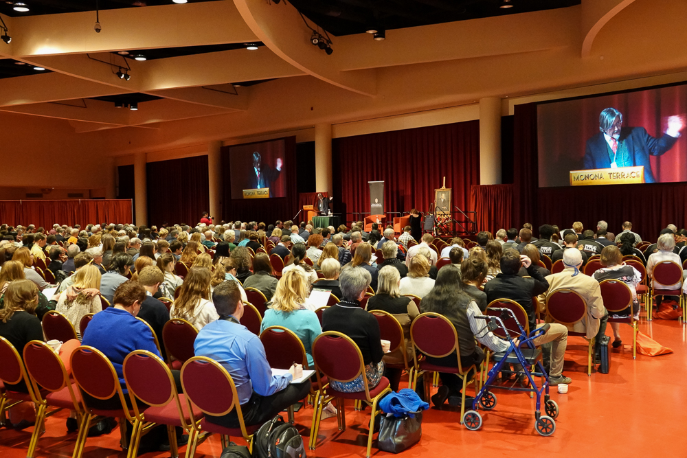 Earth Day conference